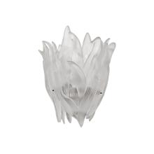 Vegetal White Wall Lamp Height 32 Cm Length 31 Cm Width 16 Cm | Gracious Style