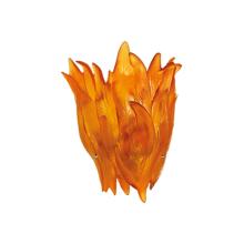 Vegetal Amber Wall Lamp Height 32 Cm Length 31 Cm Width 16 Cm | Gracious Style