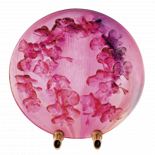 Orchid Decorative Disk Height 40 Cm | Gracious Style