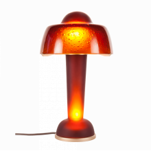 Rosewood Red Resonance Lamp Height 42 Cm Diam 25 Cm (Lampshade) | Gracious Style