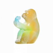 Monkey With Peach Horoscope Height 7 Cm | Gracious Style