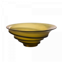 Christian Ghion Olive Green Bowl Height 11.5 Cm Diam 29 Cm | Gracious Style