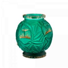 Empreinte Gilded Green Large Vase Height 34 Cm Diam 30 Cm | Gracious Style