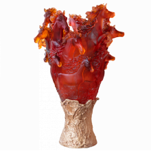 Amber Cavalcade Prestige Vase Height 86 Cm Diam 57 Cm | Gracious Style