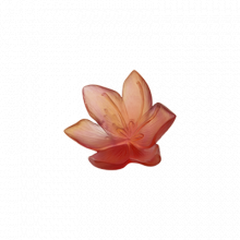 Saffron Large Decorative Flower Height 11.5 Cm Length 11 Cm | Gracious Style
