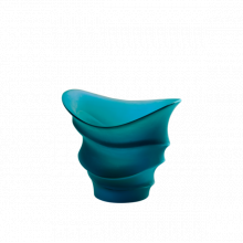 Christian Ghion Blue Candle Holder Height 9 Cm | Gracious Style