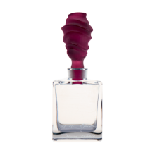 Christian Ghion Violet Perfume Bottle Height 11.5 Cm 30 Ml | Gracious Style