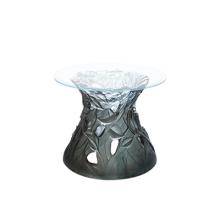 Vegetal Blue Grey Side Table Height 50 Cm Diam 60 Cm | Gracious Style