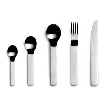 Minimal Stainless Steel Flatware | Gracious Style
