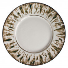 Cream Scale Bronze Finition Dinnerware | Gracious Style