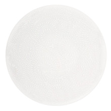 Arjuna White on White Agora Dinnerware | Gracious Style