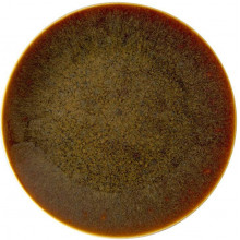Art Glaze Flamed Caramel Dinnerware