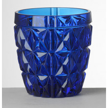 Stella Blue Tumbler 4.0 in. High 13.5 oz. | Gracious Style