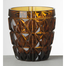 Stella Amber Tumbler 4.0 in. High 13.5 oz. | Gracious Style