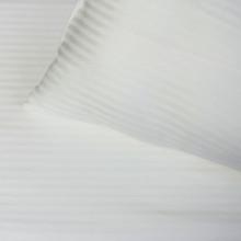 Bordeaux Bed Linens, Striped 320TC White