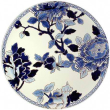 Pivoines Bleues Dinnerware | Gracious Style
