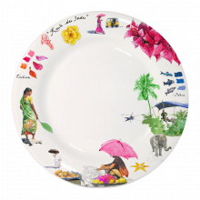 Route Des Indes Dinnerware | Gracious Style