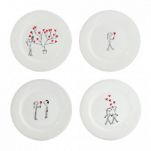 Les Amoureux Dinnerware | Gracious Style