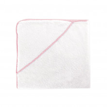 Contour Kids Hooded Towel 30 x 30 in Pearl Pink | Gracious Style