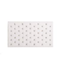 Alice Bath Rugs White | Gracious Style