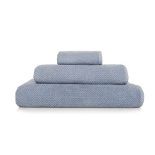 Bee Waffle Bath Towels Baby Blue | Gracious Style