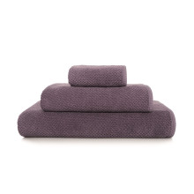 Bee Waffle Bath Towels Lavender | Gracious Style