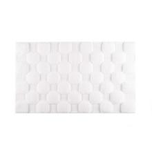 Aura Bath Rugs White | Gracious Style