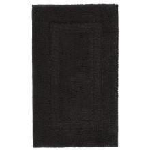 Classic Bath Rugs Black | Gracious Style