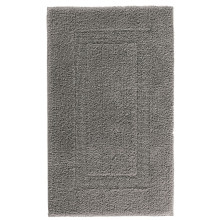Classic Bath Rugs Anthracite | Gracious Style