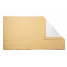 Double Tone Beach Towel 39 x 79 in Mustard | Gracious Style