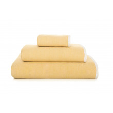 Double Tone Bath Towels Mustard | Gracious Style