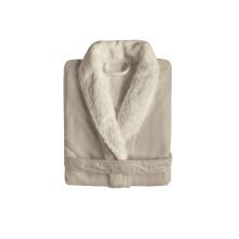 Egoist Shawl Collar Bathrobe Fog | Gracious Style