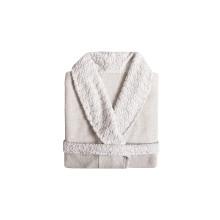 Grace Shawl Collar Bathrobe White | Gracious Style