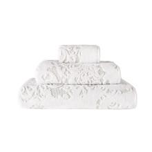Iris Bath Towels White | Gracious Style