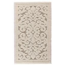 Linen Vintage Bath Rug 24 x 39 in Natural | Gracious Style