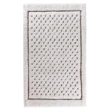 Linen Waffle Bath Rugs White | Gracious Style