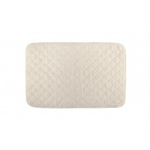 Long Double Loop Terry Tub Mat 20 x 31 in Natural | Gracious Style
