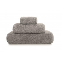 Long Double Loop Bath Towels Anthracite | Gracious Style