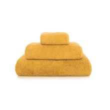 Long Double Loop Bath Towels Mustard | Gracious Style