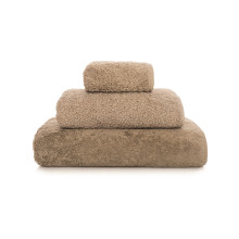 Long Double Loop Bath Towels Stone | Gracious Style