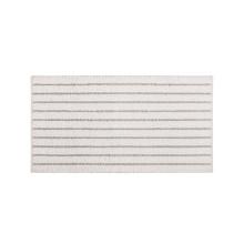 Meridian Bath Rugs White | Gracious Style