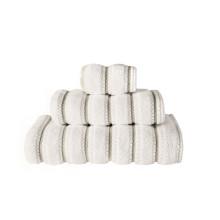 Meridian Bath Towels White | Gracious Style