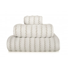 Petra Bath Towels White | Gracious Style