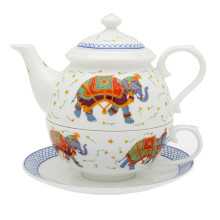 Ceremonial Indian Elephant White Tea for One | Gracious Style