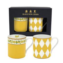 Primula & Parterre Yellow Mug Gift Set of 2 | Gracious Style