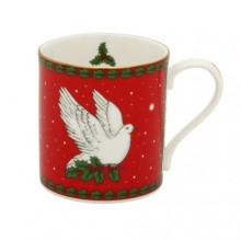 Dove of Peace Red Mug | Gracious Style