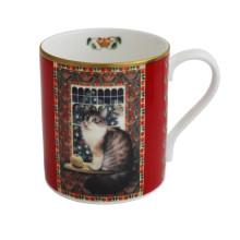 Agneatha Cat with the Apple Mug | Gracious Style