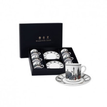 London Icons Coffee Cup & Saucer Set x 6 | Gracious Style