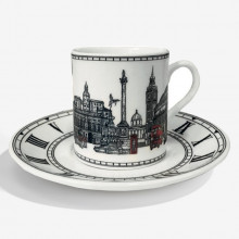 London Icons Coffee Cup & Saucer | Gracious Style