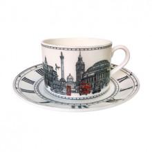 London Icons Teacup & Saucer | Gracious Style
